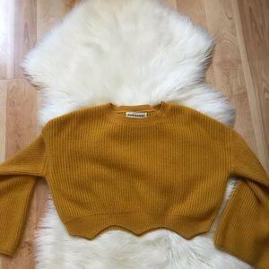 Sweaters - Pixie Market Crop Top Sweater